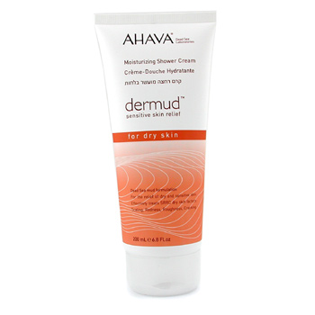 Ahava Dermud Moisturizing Shower Cream 200ml/6.8oz
