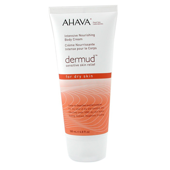 Ahava Dermud Intensive Nourishing Body Cream 200ml/6.8oz