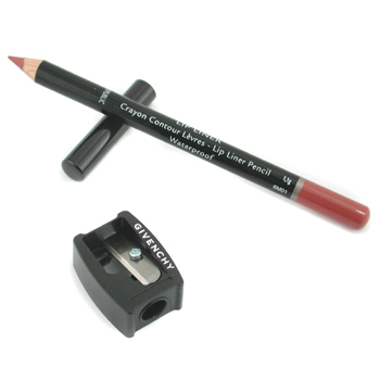Maquiagens, Givenchy, Givenchy Lip Liner Pencil Waterproof ( With Sharpener ) - # 9 Lip Brown 1.1g/0.03oz