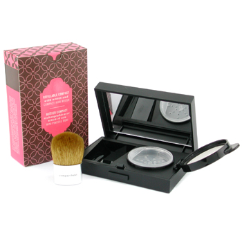 Bare Escentuals BareMinerals Beauty On The Go Recambioable Compact with Mirror & Compact Buki Brush