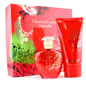 Christian Lacroix Tumulte Coffret: Eau De Parfum Spray 50ml + Body Lotion 150ml 2pcs