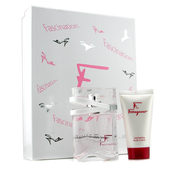 Salvatore Ferragamo F for Fascinating Coffret: Eau De Toilette Spray 50ml + Body Lotion 50ml 2pcs