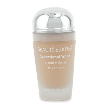 Kose Sensational White Maquillaje Líquido Blanqueador SPF 23 - # OC-31 ( Sin Embalaje )