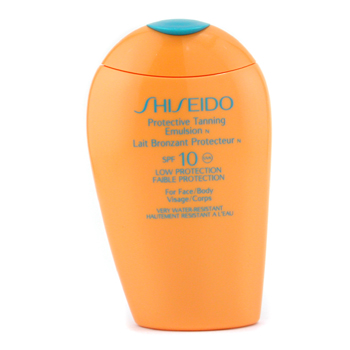 Shiseido Protective Tanning Emulsion N SPF 1 ( For Face and Body ) 15ml 5oz