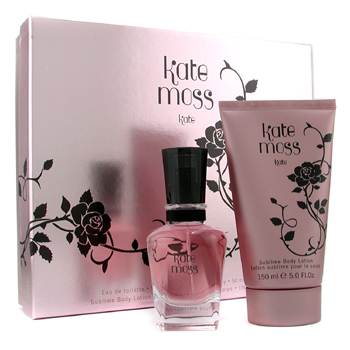 Kate Moss Kate Coffret: Eau De Toilette Spray 50ml + Body Lotion 150ml 2pcs