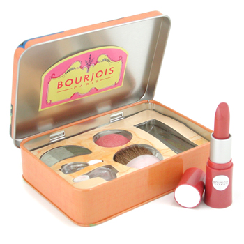 Bourjois Wish You Were Here Paleta (Trío Sombras de Ojos+Colorete+Pintalabios ) - # Tahiti