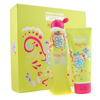 Moschino Cheap & Chic Hippy Fizz Coffret: Eau De Toilette Spray 50ml + Body Lotion 100ml 2pcs