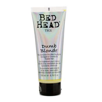 buy Tigi Bed Head Dumb Blonde Reconstructor For After Highlights (Damaged & Chemically Treated Hair) 200ml/6.76oz by Tigi skin care shop