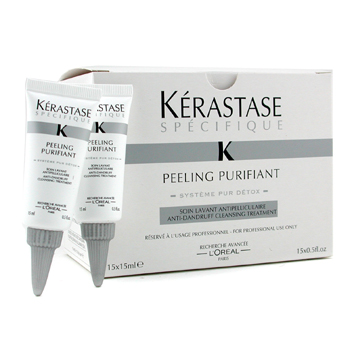 L'Oreal Kerastase Specifique Peeling Purifiant Anti-Dandruff Cleansing Treatment 15x15ml