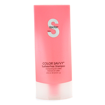buy Tigi S Factor Color Savvy Shampoo 250ml/8.45oz by Tigi skin care shop