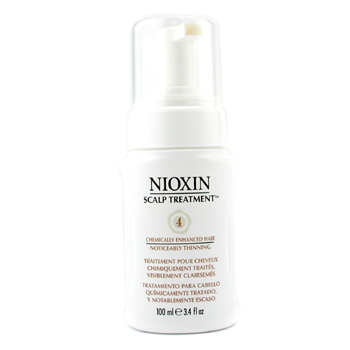 Nioxin System 4 Scalp Tratamiento SPF15 For Fine Hair, Chemically Enhanced Hair, Noticeably Thinning