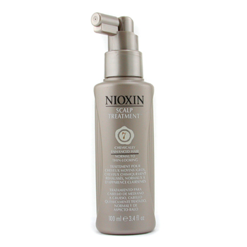 Nioxin System 7 Scalp Tratamiento SPF15 For Medium/Coarse, Chemically Enhanced Normal to Thin-Lookin