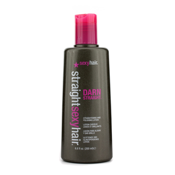 buy Sexy Hair Concepts Straight Sexy Hair Darn Straight Straightening & Polishing Lotion 200ml/6.8oz by Sexy Hair Concepts skin care shop