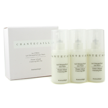 Chantecaille Cleansing Milk Trio: 3x Flower Infused Cleansing Milk 30ml 3x30ml
