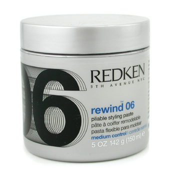 buy Redken Rewind 06 Pliable Styling Paste 142g/5oz by Redken skin care shop