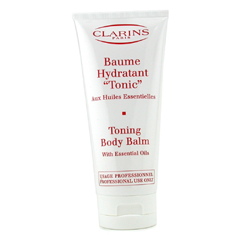 Para a pele da mulher, Clarins, Clarins Toning Body Balm ( Salon Product Packaging ) 200ml/6.9oz