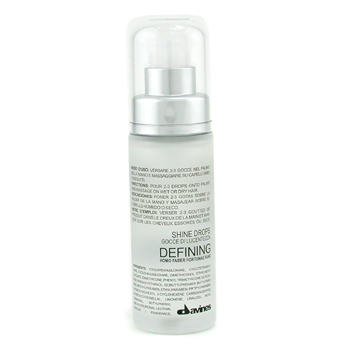 buy Davines Defining System Shine Drops 30ml/1oz by Davines skin care shop
