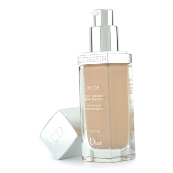 Christian Dior Diorskin Nude Natural Glow Hidratante Base Maquillaje SPF 10 - # 010 Ivory
