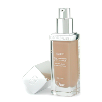 Christian Dior Diorskin Nude Natural Glow Hydrating Makeup SPF 10 - # 030 Medium Beige 30ml/1oz