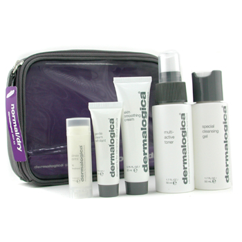 Dermalogica Normal/ Piel Seca Kit: Limpiador 50ml+ Tónico 50ml+ Suavizante Crm 22ml+ Exfoliante 10ml