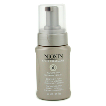 Nioxin System 6 Scalp Tratamiento SPF15 For Medium/Coarse Hair, Natural Hair, Noticeably Thinning Ha