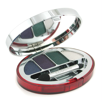 Maquiagens, Clarins, Clarins Colour Quartet For Eyes - No. 100 Elegance 6g/0.21oz