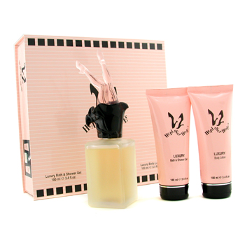 Ultima Head Over Heels Estuche:Agua de Colonia Vaporizador 115ml + Gel de Ducha 100ml + Loción Corpo