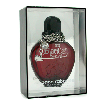 Paco Rabanne Black Xs For Her Live Sound Eau De Toilette Spray ( Limited Edition ) 80ml/2.7oz