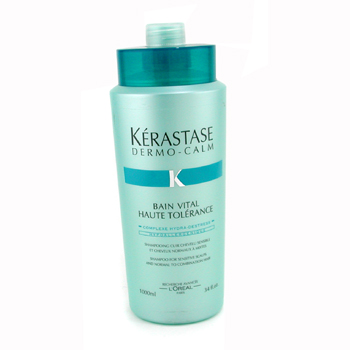 buy Kerastase Dermo-Calm Bain Vital Shampoo (Sensitive Scalps & Normal to Combination Hair) 1000ml/34oz by Kerastase skin care shop