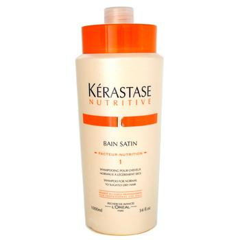 Kerastase Kerastase Nutritive Bain Satin 1 Shampoo (Normal to Slightly Dry Hair) 1000ml/34oz