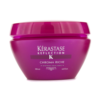buy Kerastase Kerastase Reflection Chroma Riche Luminous Softening Treatment Masque (For Highlighted or Sensitised  Color-Treated Hair) 200ml/6.8oz by Kerastase skin care shop