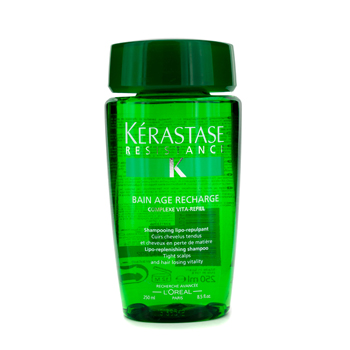 Kerastase Kerastase Resistance Bain Age Recharge Shampoo ( For Tight Scalps & Hair Losing Vitality ) 250ml/8.5oz