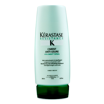 buy Kerastase Kerastase Resistance Ciment Anti-Usure Reinforcing And Refinishing Treatment For Damaged Lengths & End Rinse Out 200ml/6.8oz by Kerastase skin care shop