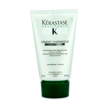 Cuidados com o cabelo, Kerastase, Kerastase Kerastase Resistance Ciment Thermique - Heat-Activated Reconstructor Milk (For Weakened Hair) 125ml/4.8oz