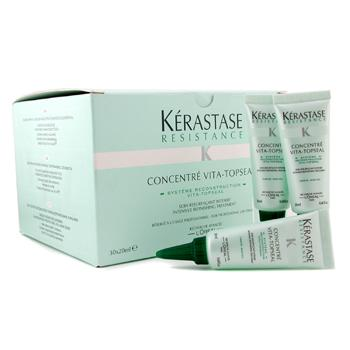 Cuidados com o cabelo, Kerastase, Kerastase Kerastase Resistance Intensive Refinishing Treatment For Weakened Hair ( Rinse Out ) 30x20ml