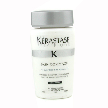 buy Kerastase Specifique Bain Gommage Purifying Anti-Dandruff Shampoo (Greasy Hair) 250ml/8.5oz by Kerastase skin care shop
