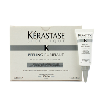 buy Kerastase Kerastase Specifique Peeling Purifiant Anti-Dandruff Cleansing Treatment 15x15ml/0.5oz by Kerastase skin care shop