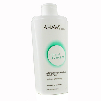 Para a pele da mulher, Ahava, Ahava Aftersun Rehydrating Balm For Body &amp; Face 250ml/8.5oz