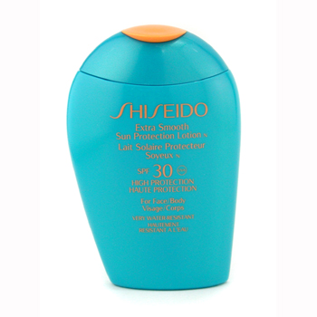 Shiseido Extra Smooth Sun Protection Lotion N SPF 30 UVA ( For Face & Body ) 100ml/3.4oz