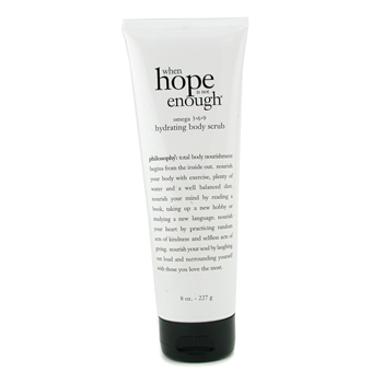 Philosophy When Hope is Not Enough Omega 3.6.9 Exfoliante Corporal Hidratante