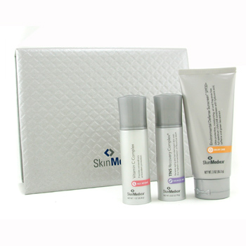 buy Skin Medica Skin Medica Set: Sunscreen 85g + Vitamin C Complex 28.35g + TNS Recovery Complex 18g 3pcs  skin care shop