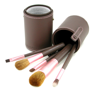 Bare Escentuals Buffing Brushes The Escentual Collection 5pcs+1Case