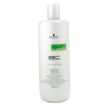 Cuidados com o cabelo, Schwarzkopf, Schwarzkopf BC Aloe Essence Sensitive Soothe Conditioner 1000ml/34oz