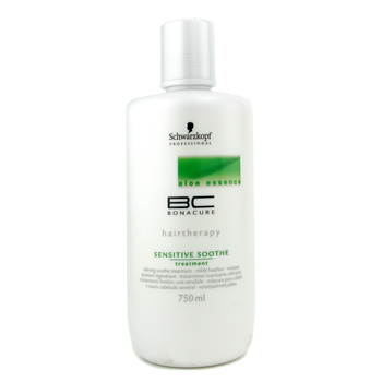 Cuidados com o cabelo, Schwarzkopf, Schwarzkopf BC Aloe Essence Sensitive Soothe Treatment 750ml/25oz