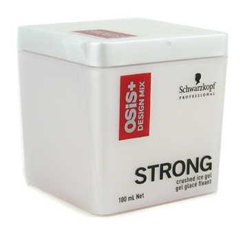 Cuidados com o cabelo, Schwarzkopf, Schwarzkopf Osis+ Design Mix Strong Crushed Ice Gel 100ml/3.4oz