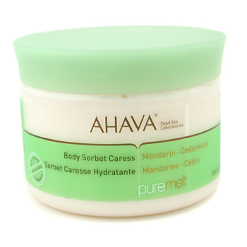 Ahava Body Sorbet Caress - Mandarin Cedarwood 350g/12.3oz