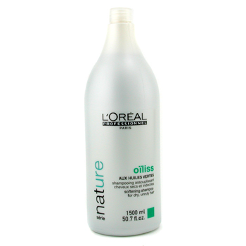 L'Oreal Professionnel Nature Serie - Oiliss Shampoo ( For Dry  Unruly Hair ) 1500ml/50.7oz