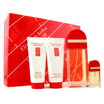 Elizabeth Arden Estuche Red Door : Agua de Colonia Vaporizador 100ml+ Agua de Colonia Vap. 10ml+ Loc