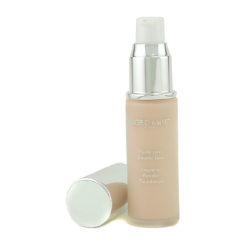 buy Ingrid Millet UV Protect Liquid to Powder Foundation SPF10 - # 001 30ml/1oz  skin care shop