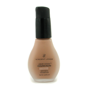 buy Vincent Longo Liquid Canvas Healthy Fluid Foundation w/ Pump (Sheer Matte) - # 7 Golden Tan 30ml/1oz by Vincent Longo skin care shop